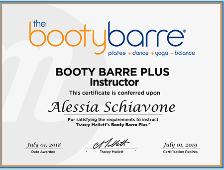 Booty Barre Plus Instructor